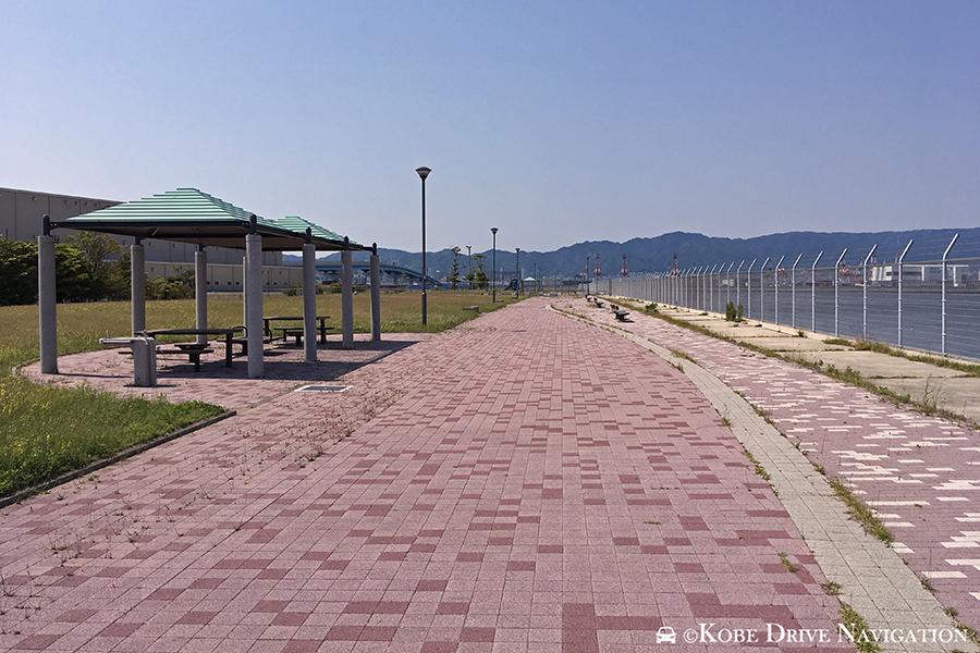 神戸空港島東緑地
